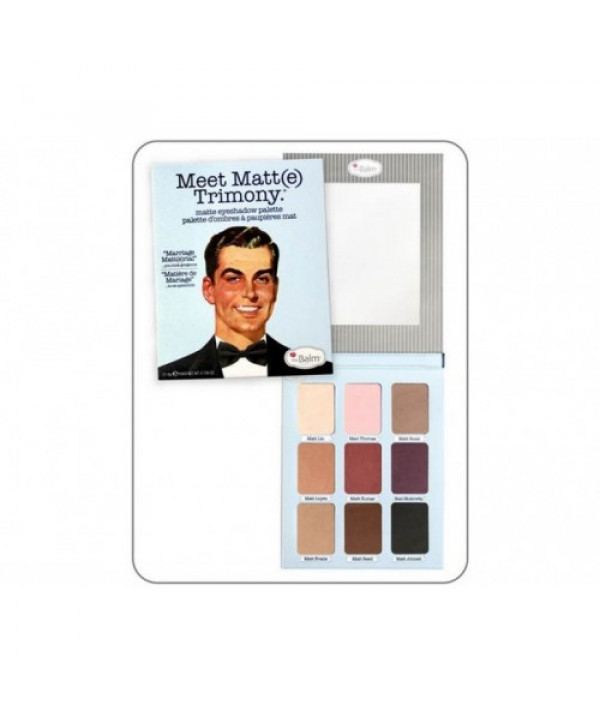 Палетка теней theBalm  Meet Matt(e) Trimony®