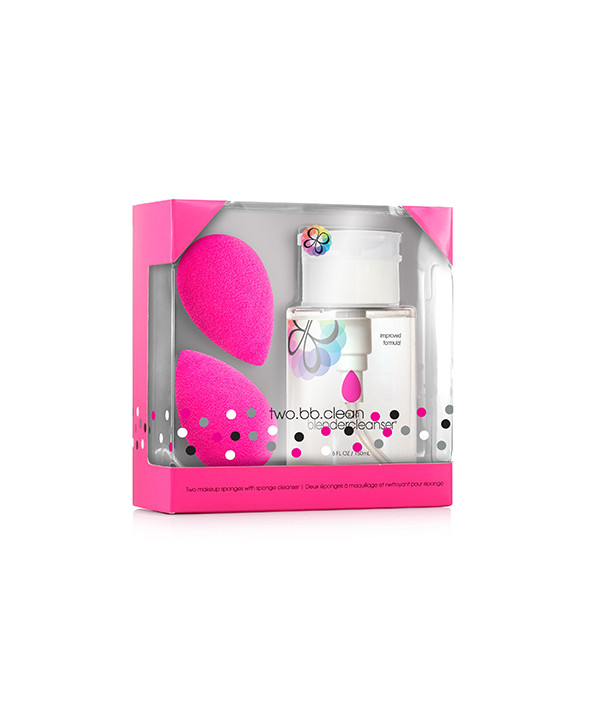 2 спонжа beautyblender original и очищающий гель blendercleanser 150 мл.