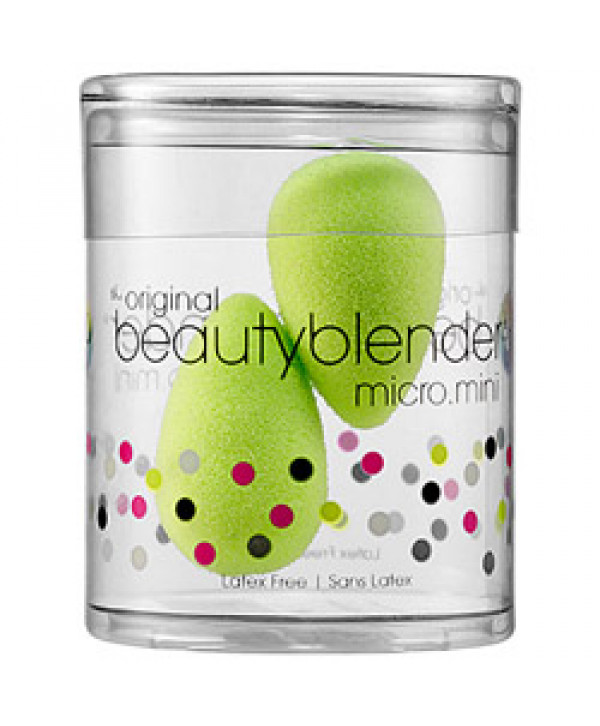 Beautyblender micro.mini - Мини-версия спонжа, 2 спонжа