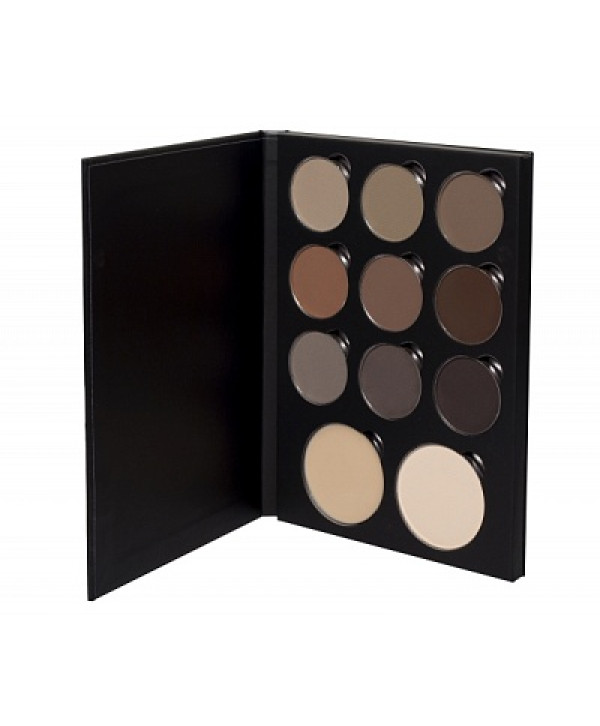 SENNA Brow Book 1 Magnetic Makeup Palette Палетка теней для бровей